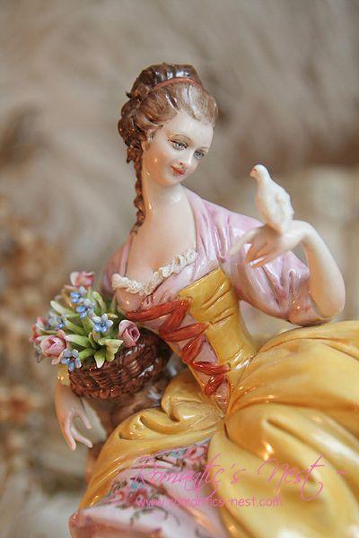 Beautiful lady figurine