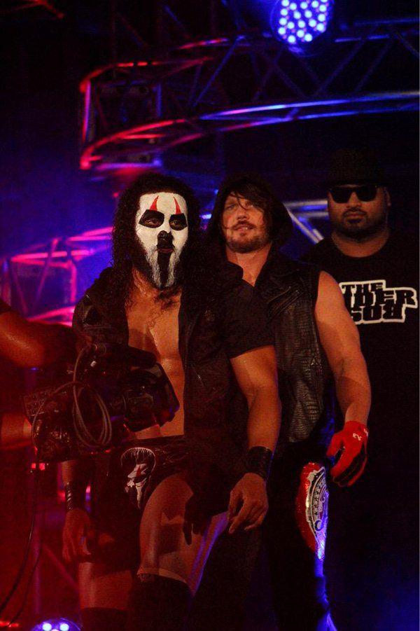 Tama Tonga, AJ Styles, and Bad Luck Fale