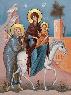 Holy Family, $3.00, Catalog of St. Elisabeth Convent #icon #MotherofGod #Blessed #VirginMary #CatalogOfGoodDeed #christianity #orthodoxy #church #Mary