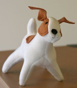 Sparky is an adorable dog who's ready to play! The kids will love playing with this stuffed toy. It also makes a great pet for the dolls in your doll collection. Sew up the entire toy family using this free stuffed toy sewing pattern. Sewn by: Both Hand and Machine