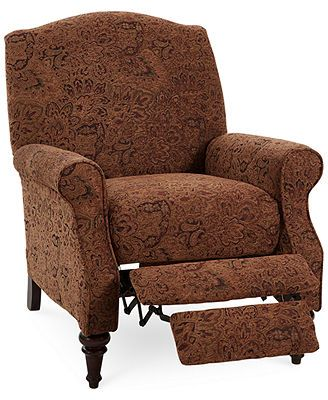 "not red but pretty and a recliner and great price Paige Fabric Recliner Chair 31""W x 34\""D x 39\""H"