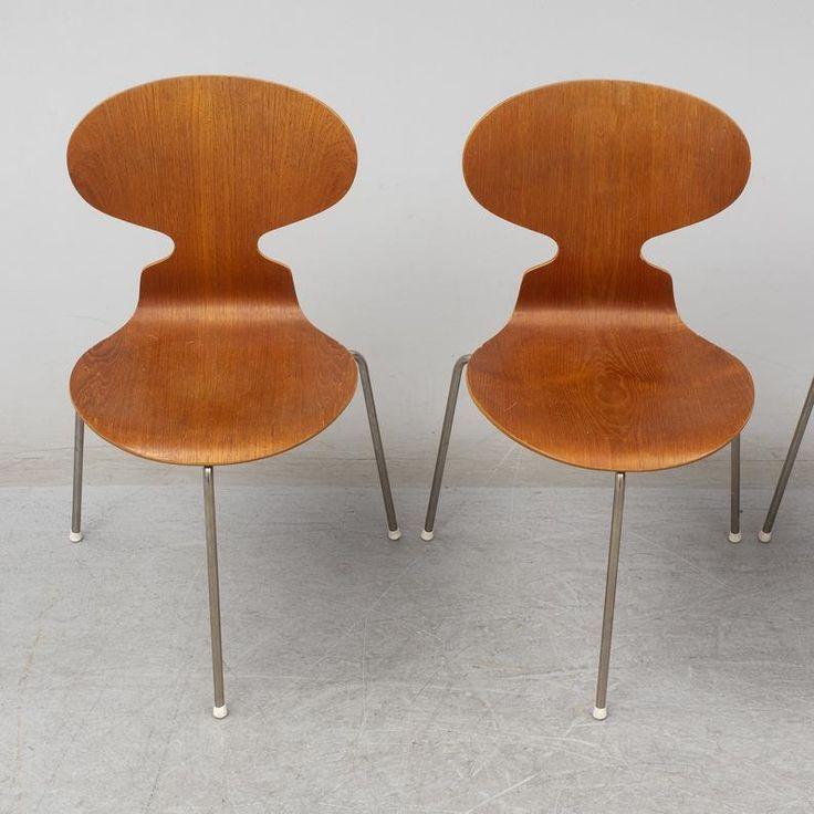 Arne Jacobsen Ant Mid Century Modern In 2020 Furniture Design Modern Futuristic Furniture Mid Century Furniture