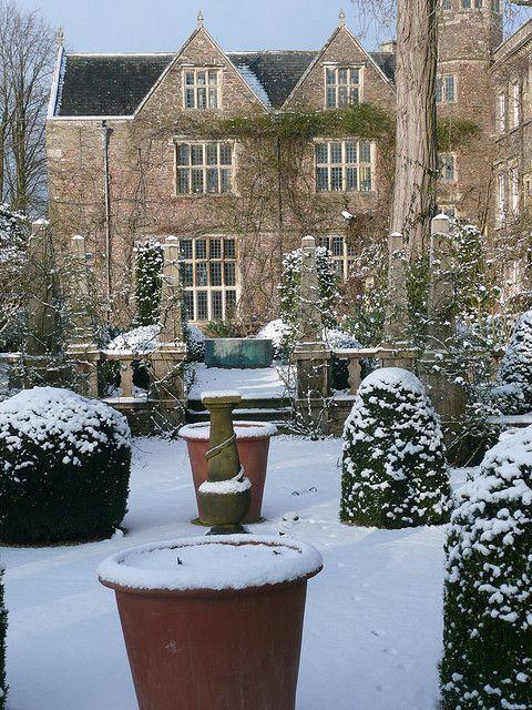 Hanham Court garden, Bristol