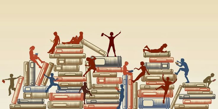 люди на книжках