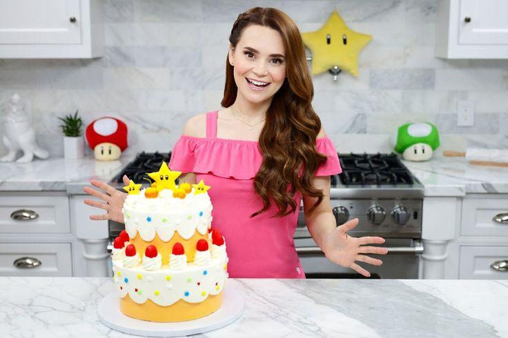 Princess Peach's Cake - Peach Cake Recipe from Super Mario Run