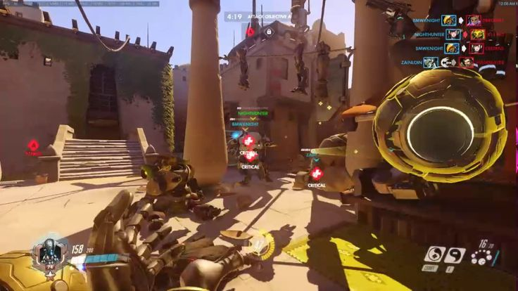 [Overwatch]Video title might be a little exaggerated but Temple of Anubis in 1:50 was amazing.
