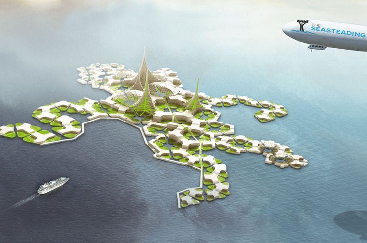 Seastanding institute : utopie en pleine mer
