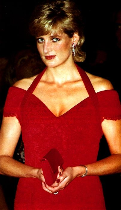 Princess Diana - known for her fund-raising work for international charities, loving mother, and an eminent celebrity of the late 20th century