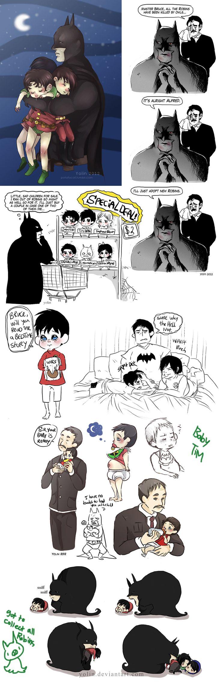 Doodles - Batman 9 by *yolin on deviantART
