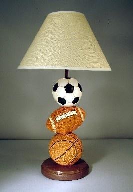 Three Ball Sport Lamp