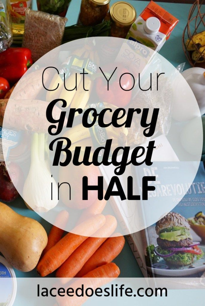 Grocery Budget | Cut in Half | Budget | Groceries | Plan | Organize | Meal Plan | Money | Save |
