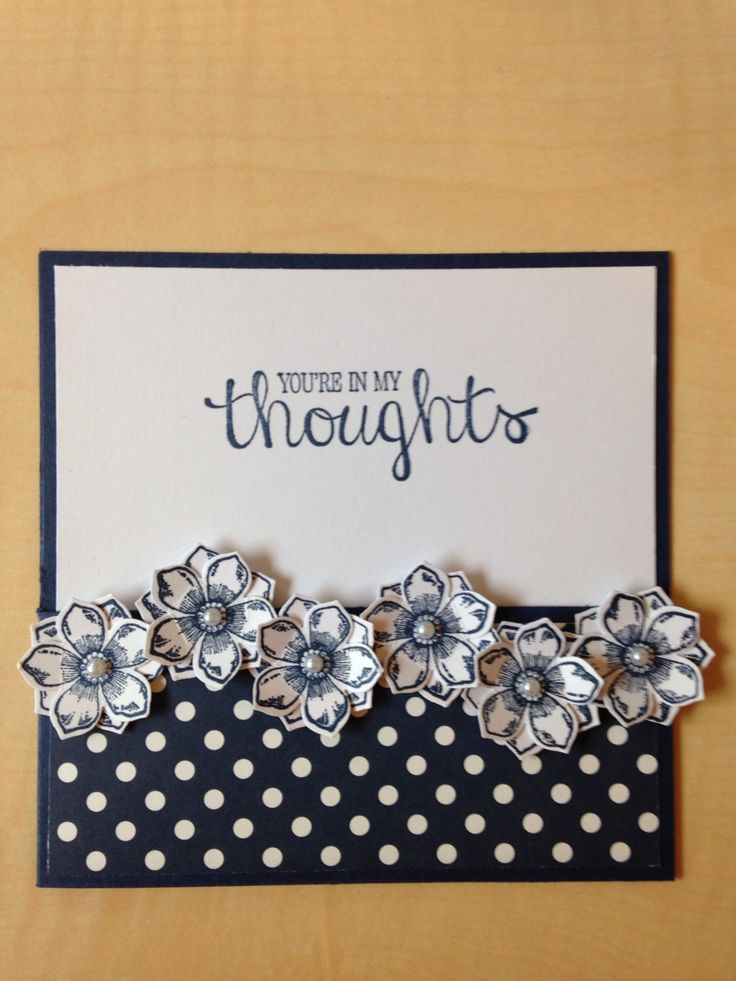 Card made with Stampin'Up
