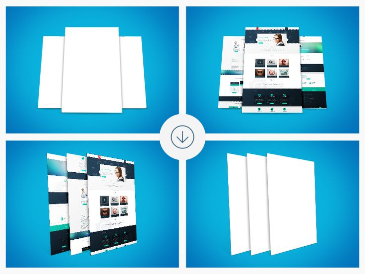 Freebie - Web Mockups by GraphBerry