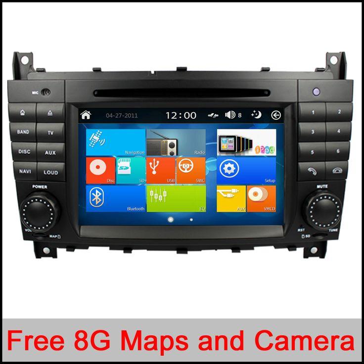 Capacitive Car DVD for Mercedes/Benz C Class W203 2004-2007 c200 C230 C240 C320 C350 CLK W209 2005 headunit GPS Radio WiFi 3G