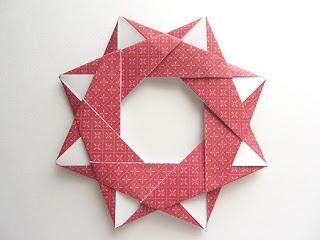 Origami-Instructions.com: Origami Modular Star Wreath