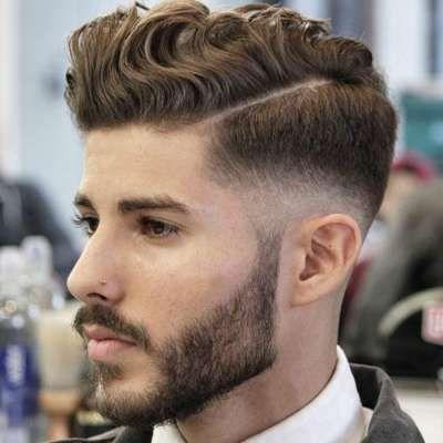 low fade mens hair cut curly mens hair