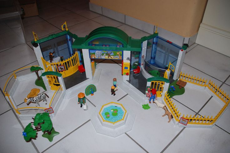 Playmobil 3240 Großer Tierpark, Zoo Tiergehege Wildpark