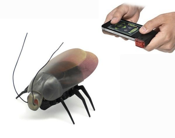 To Prank Friends, A Fake Robotic Bug You Can Control With Your iPhone – DesignTA…