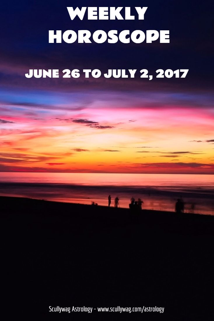 Weekly horoscope june 26 to july 2 2017