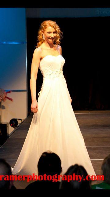 Wedding Fashion Show 2015  Model: Samantha G.  www.orangemodels.ca