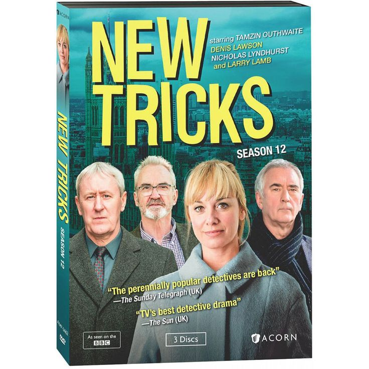 """New Tricks: Season 12 - For 11 years, this BBC series about retired detectives solving cold cases was an """"unstoppable ratings monster"""" (London Sunday Telegraph). But the BBC pulled the plug and this is the final season. After a two-part opener, Dennis Waterman (Gerry Standing) bows out and Larry Lamb steps in as superstitious ex-cop Ted Case. UCOS goes out the way it came in: uncovering London's long-buried secrets and bringing justice to its streets."""