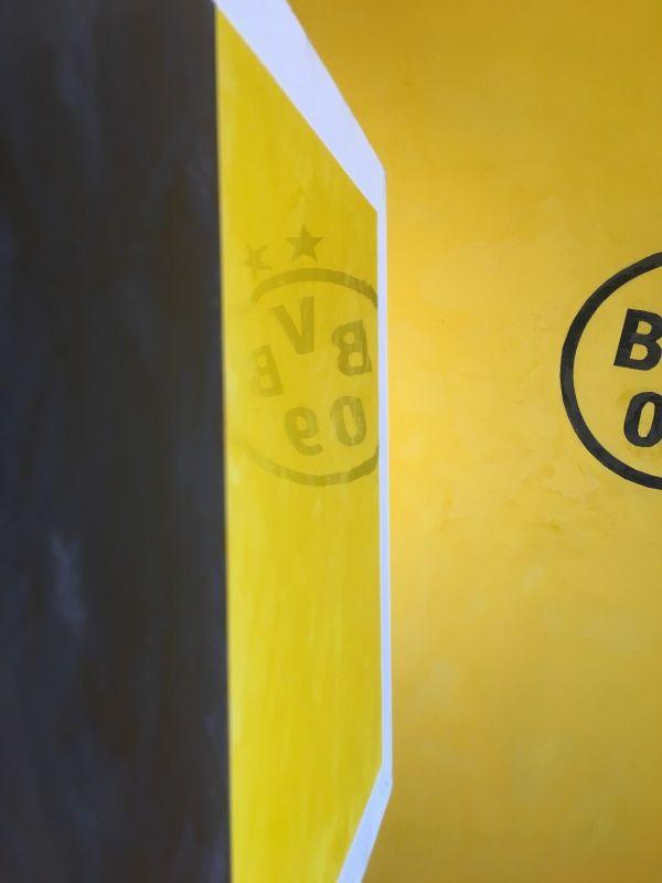 Video Estuco Mitiko Color Amarillo y Negro a Rayas