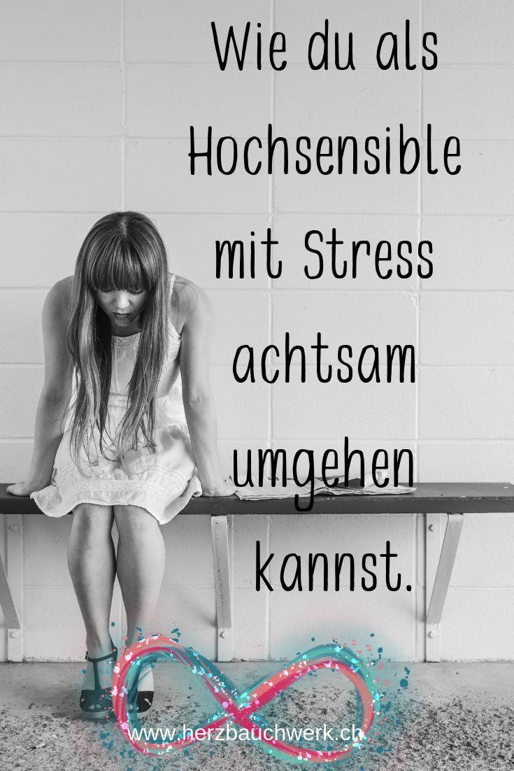 Jeder von uns kennt ihn, den Stress. Vor allem hochsensible Menschen erfahren ih …  – ❤️Self-Care❤️
