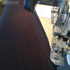 In meinem LadyMariella-Post  habe ich zu dem folgenden Foto geschrieben, dass ich endlich einen Weg gefunden habe, mit meiner Nähmaschine ak...