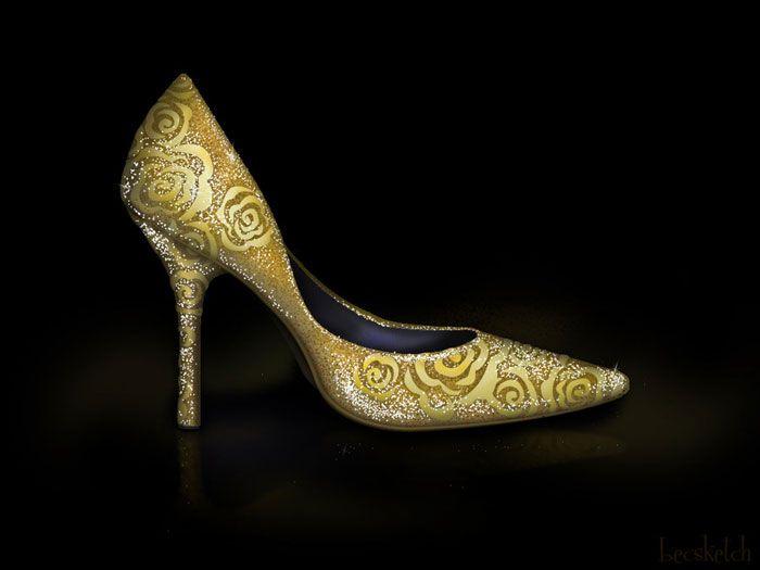 Sapatos inspirados nas princesas da Disney  *--*    #BELA