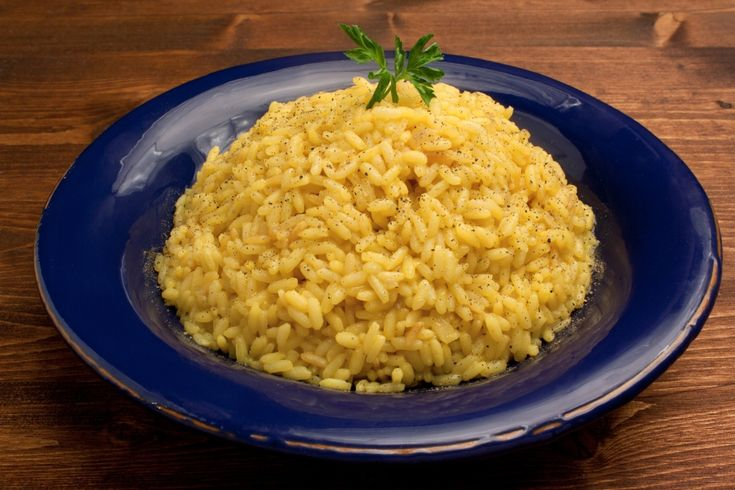 Risotto alla milanese - Safranrisotto - Rezept von Pastaweb