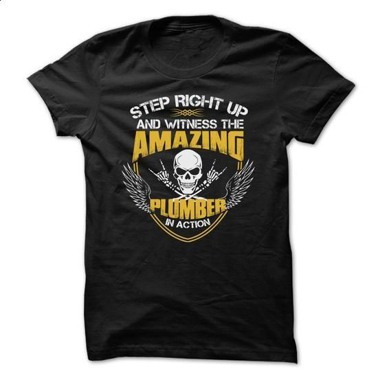Awesome Plumber Shirt - #shirt designs #personalized hoodies. MORE INFO => https://www.sunfrog.com/Funny/Awesome-Plumber-Shirt-5414937-Guys.html?60505