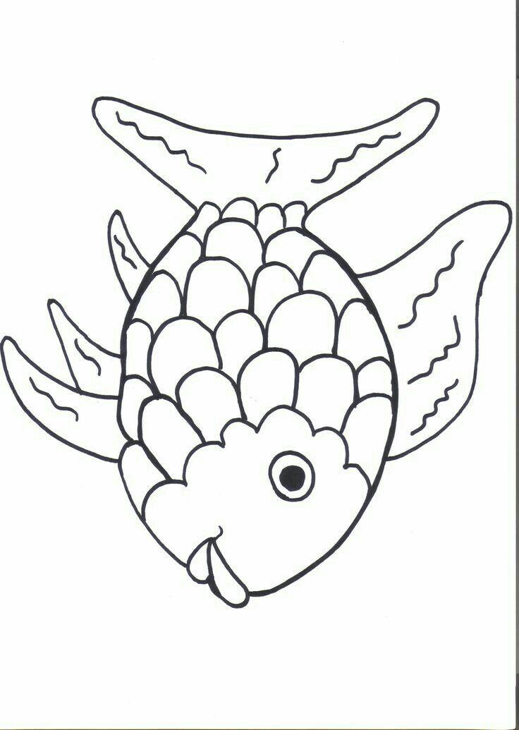 Pin by Jennifer Johnson on school | Rainbow fish coloring ...