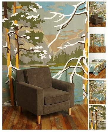 Winter Woods Tapestry Let S Make Something Pinterest Painting Wall Murals And Paint By Number