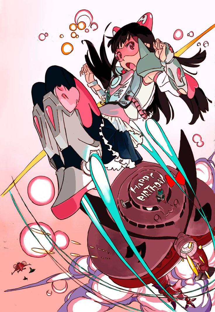 effects illustration momoiro_clover sushio web