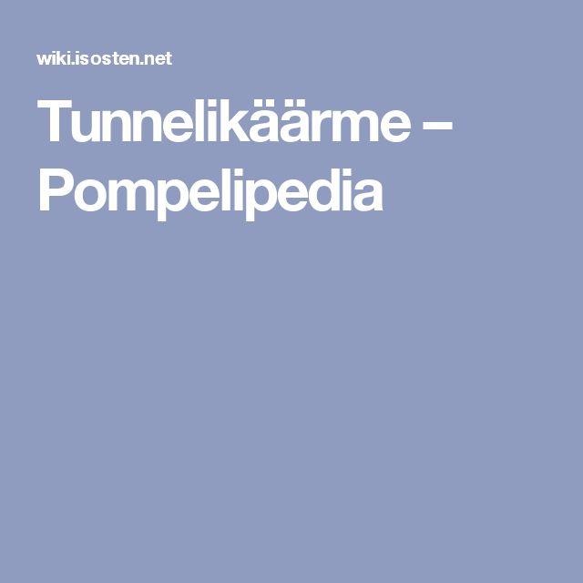 Tunnelikäärme – Pompelipedia