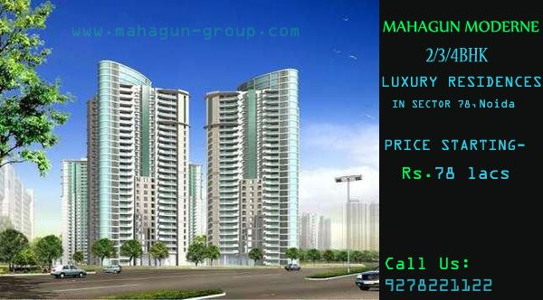 #Mahagun Builders presents #MahagunModerne located in Noida setor 78 offers High Rise and Low Rise apartments constituting of 3BHK, 4BHK and 5BHK, it also has the concept of Independent flooring and Duplexes for 4BHK and 5BHK in Low Rise apartments. visit: http://www.mahagun-group.com/project/mahagunmoderne