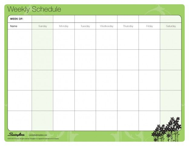 The 25+ best Monthly schedule template ideas on Pinterest - schedule template