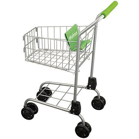 Buy John Lewis Toy Waitrose Shopping Trolley Online at johnlewis.com - LOL!!!