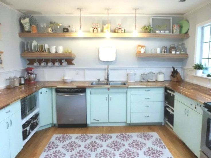 Kitchen, 1950's, Metal cabinets, Refinished, Youngstown # ...