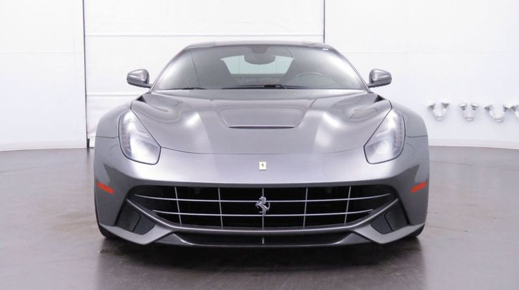 Awesome Amazing 2016 Ferrari F12berlinetta 2dr Coupe 2016 F12 - Historic Grigio Ferro  2018