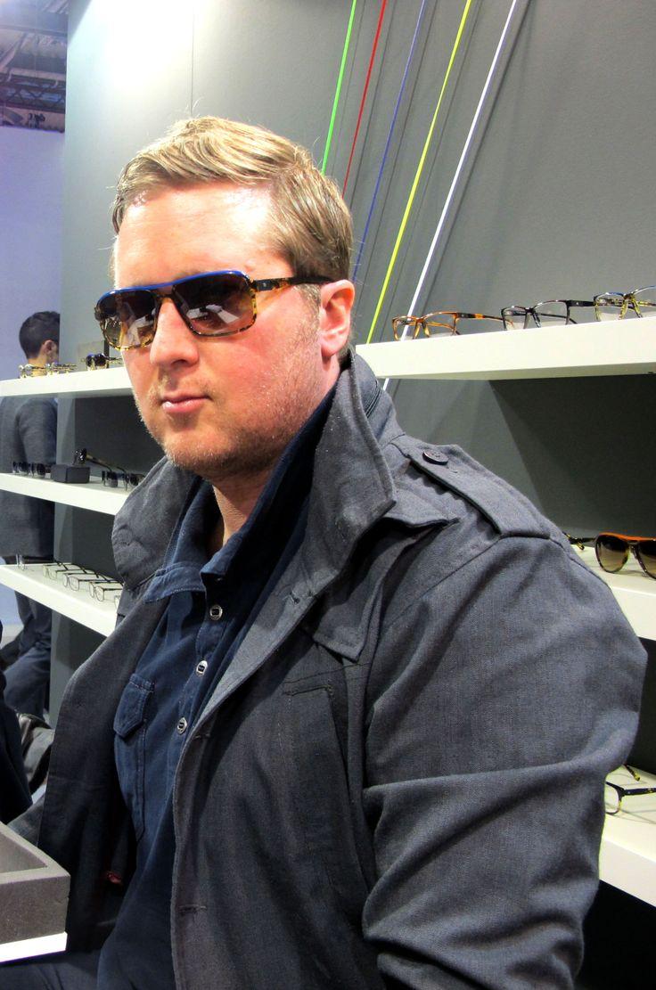 Mido 2014 - Jack is wearing Molecube sunglasses
