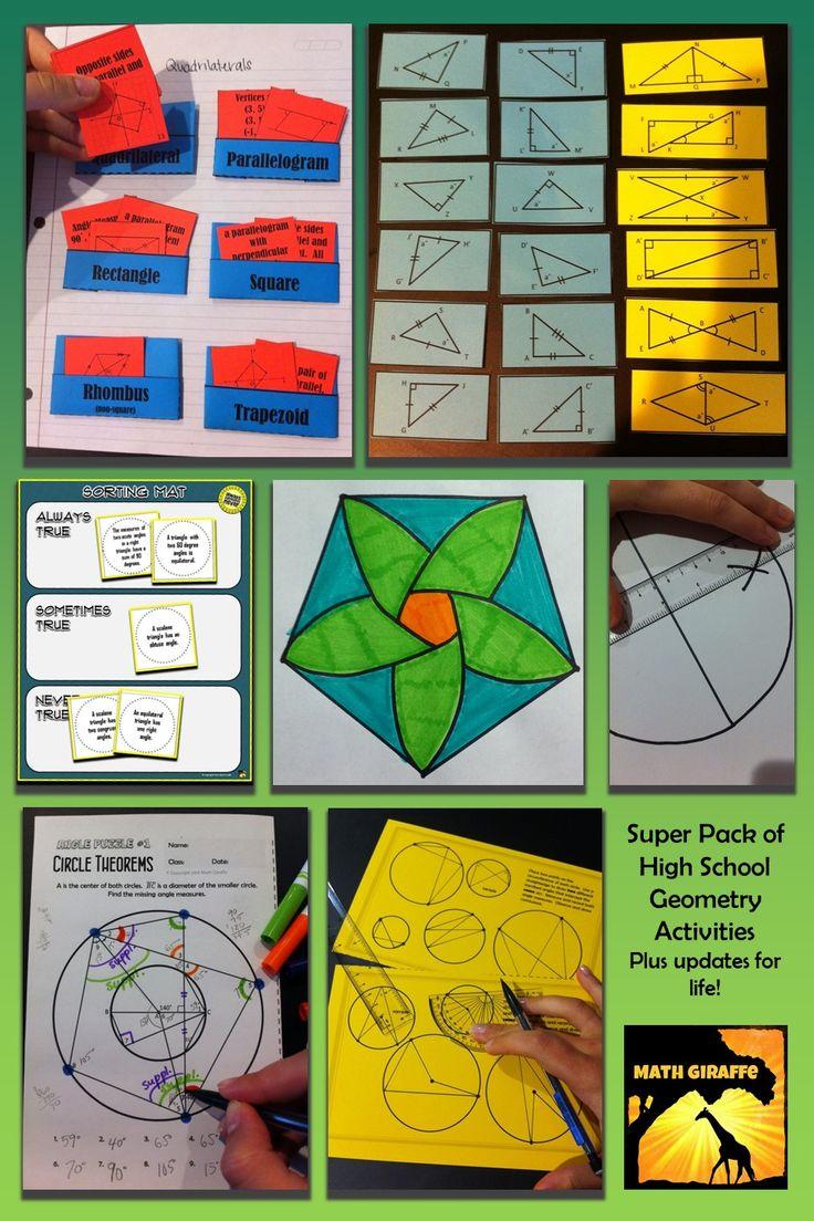 best 25 high school geometry ideas on pinterest high school algebra math school and high. Black Bedroom Furniture Sets. Home Design Ideas