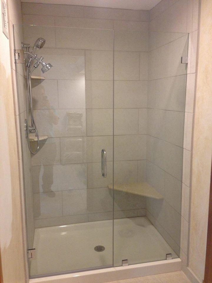 X Shower Glass