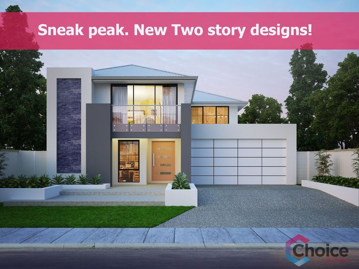 We're working on some exciting new two storey home designs. Follow us on Facebook, Twitter or Pinterest to be among the first to see them.