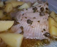 Recette Aile de raie au beurre noir et ses pommes de terre par rozanne - recette de la catégorie Poissons
