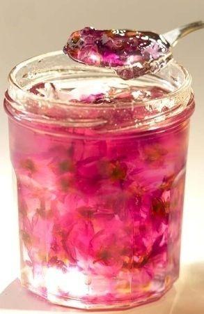 Rose hibiscus jam