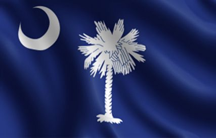 South Carolina Flag Carolina Usa States Flags Southern Style United