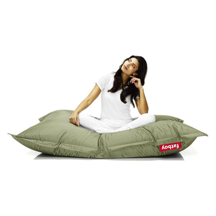 Fatboy Original 6-Foot Extra Large Bean Bag Chair Olive - ORI-OLV