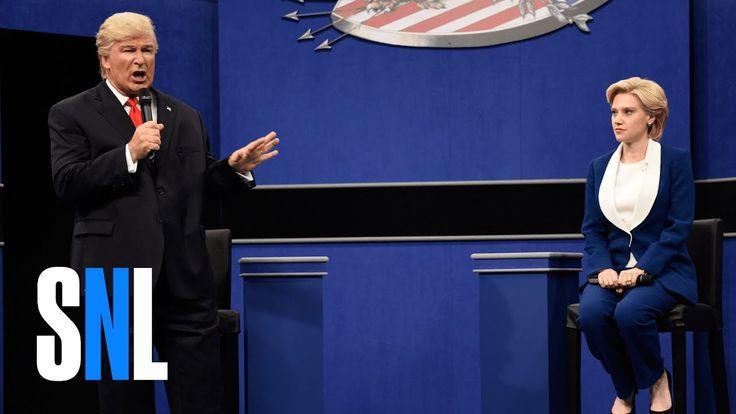 Alec Baldwin and Kate McKinnon Recreate the Second Presidential Debate on Saturday Night Live
