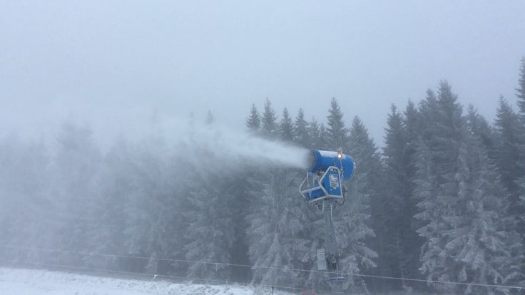 Beschneiungsanlage in #Braunlage am #Wurmberg